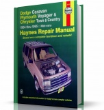 DODGE CARAVAN, PLYMOUTH VOYAGER, CHRYSLER TOWN & COUNTRY MINI-VANS (1984-1995) USA