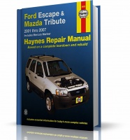 FORD ESCAPE, MAZDA TRIBUTE, MERCURY MARINER (2001-2007) - instrukcja napraw Haynes