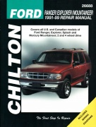 FORD SPLASH USA (1991-1999) CHILTON