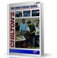 FORD V8 ENGINE OVERHAUL MANUAL (CHILTON)