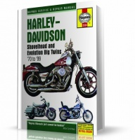 HARLEY-DAVIDSON EVOLUTION BIG TWINS (70-99) KSIĄŻKA NAPRAW