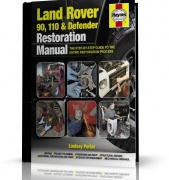 LAND ROVER 90,110 & DEFENDER RESTORARTION MANUAL