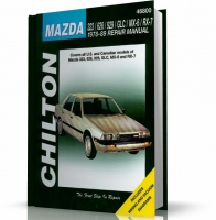 MAZDA 323, 626, 929, GLC, MX-6, RX-7 (1978-1989) CHILTON